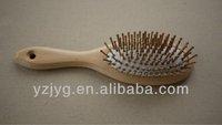 FSC Wooden Comb Barber Hair Roller Brush