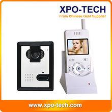 Hot sale video intercom door phone with memory