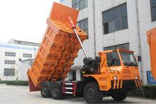 6x4 mining truck/mining dump truck/mining tipper 50Mt load 375hp