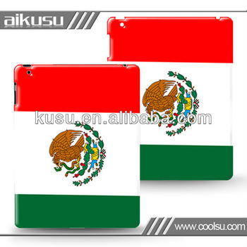 pu case for ipad 4 with plastic material