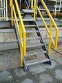 Usine directe frp. rampe d'escalier, sgs a approuvé
