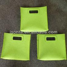 Eco felt carriying bag Felt carry bag & Felt carrier bag