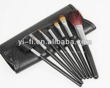 Sensible 7 pcs black makeup set raw materials of pen