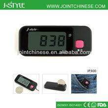 Promotional 3d g-sensor multi-function 7 days memory digital pedometer china free step counter