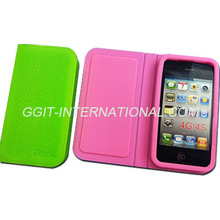For iPhone 4 4S Silicon Flip Cover