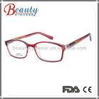 Red popular optical frame