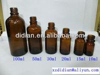5ml,10ml,15ml,20ml,30ml,50ml,100ml,clear(flint),amber,blue,green essential oil glass bottle
