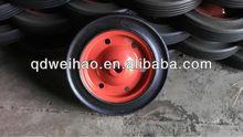 rubber powder solid wheel for wheelbarrow wb3800