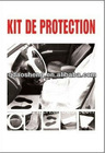[HDPE/LDPE] disposable car clean 5 In 1 kit (Factory price)