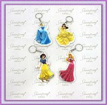 2013 manufactory wholesale eco-friendly princess key chain
