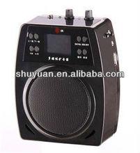 USB/FM/ECHO/TF record portable speaker amplifier