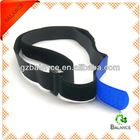 Velcro straps with buckle for bundling, securing and cinching