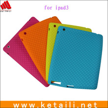 For Apple iPad 4 Silicone Case, Soft Rubber Silicone Case for Apple iPad 4