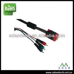 Cable vga rca male