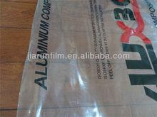 transparent protective film for aluminum composite panel