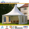 outdoor 10x10m 100 square meter colorful wedding party event pagoda tent for hotel solution