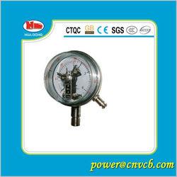Miniature Bourdon tube pressure gauge