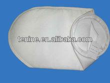 sewn-in steel sanp band filter bag