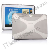 Compact X-shaped Soft TPU Case Cover for Samsung Galaxy Tablet PC Galaxy Note 10.1 N8000