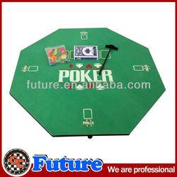 Octagon poker table set