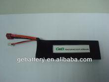 li-polymer 3.7v 4100mah 10C rc toy battery