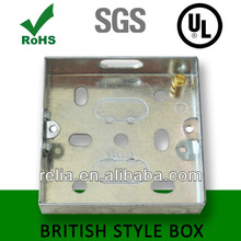 British Square Metal Junction Box