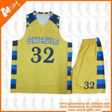 ODM service Customized Basketball uniform