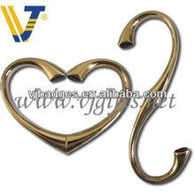 hot selling novelty heart shaped handbag hanger holder
