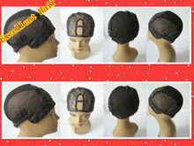 MOQ 10pcs/lot wholesale stretch adjustable lace U part wig caps in stock