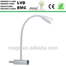 1W LED flexible reading furniture lamp