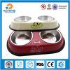 wholesale non-slip double stainless steel dog bowl,bird feeder