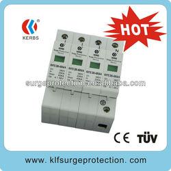 380V/40KA Three phase Surge protector/lighting arrestor(no remote signal) for mechanical equipment