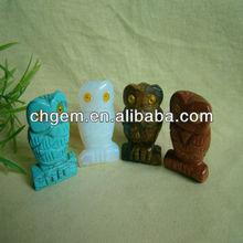 Best natural stone craft owl figurine