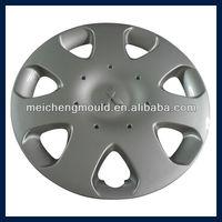 Injection Plastic Auto Parts Plastic Car Wheel Cover