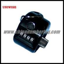 UIC 1300 black plastic manual counter