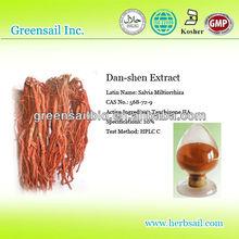 CAS No.: 568-72-9 , Dan shen/Salvia Miltiorrhiza P.E Powder