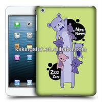 animal design for apple ipad mini silicone case