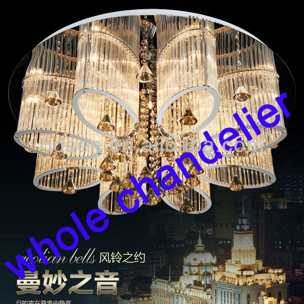 Zhong shan crystal pendant lamp for home decoration