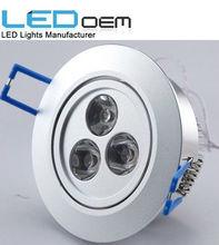Hot sale LED ceiling light, cheap led ceiling light, ceiling light 70mm cut out