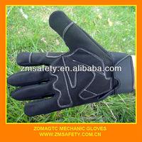 Spandex mechanic shock absorber gloves JRS334