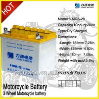 baterIas de bateria de la motocicleta de tres ruedas de motor y vehIculo de dos ruedas de motocicleta