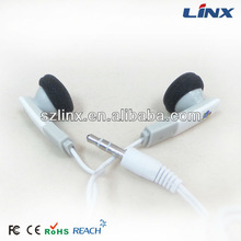 Fashion earphones with remote and mic for Iphone LX-GM089