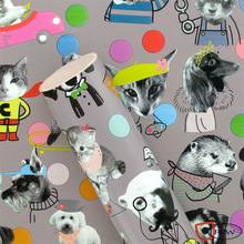 Latest Cat &Dog Pet Gift Wrap Paper Roll Cutomized Design