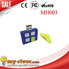 mini gift living house shape usb flash drive customize logo