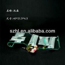 Clear perspex bathroom amenity tray wholesale