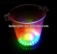 led ice cube bucket