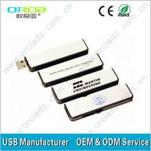 Factory price original chip plastic pen drive on promotion, 4gb usb pen drive