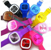 fashion colorful ss.com jelly watch