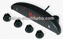 Car LED Display 4 Parking Sensor Radar 5 Colors for Choice