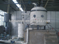 Used engine oil air distillation recycling machine to black oil recycling refinery(ZB )